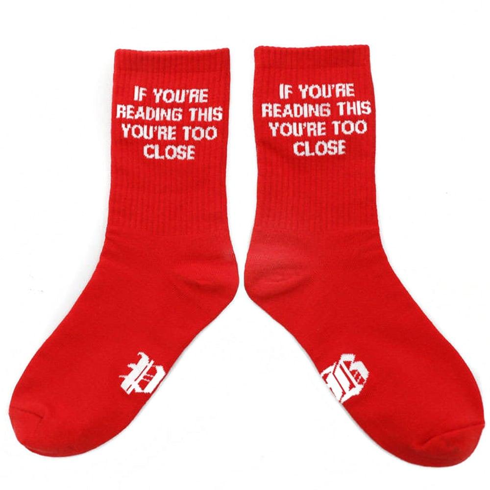 Image of Valentine PB Plush Sock