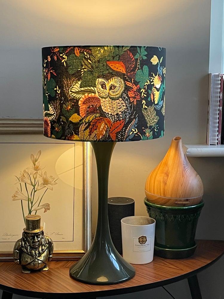 Image of Harvest Owl Black Shade 30cm