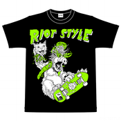 Image of Riot Style W.R.A.L.F. T-Shirt (Black)