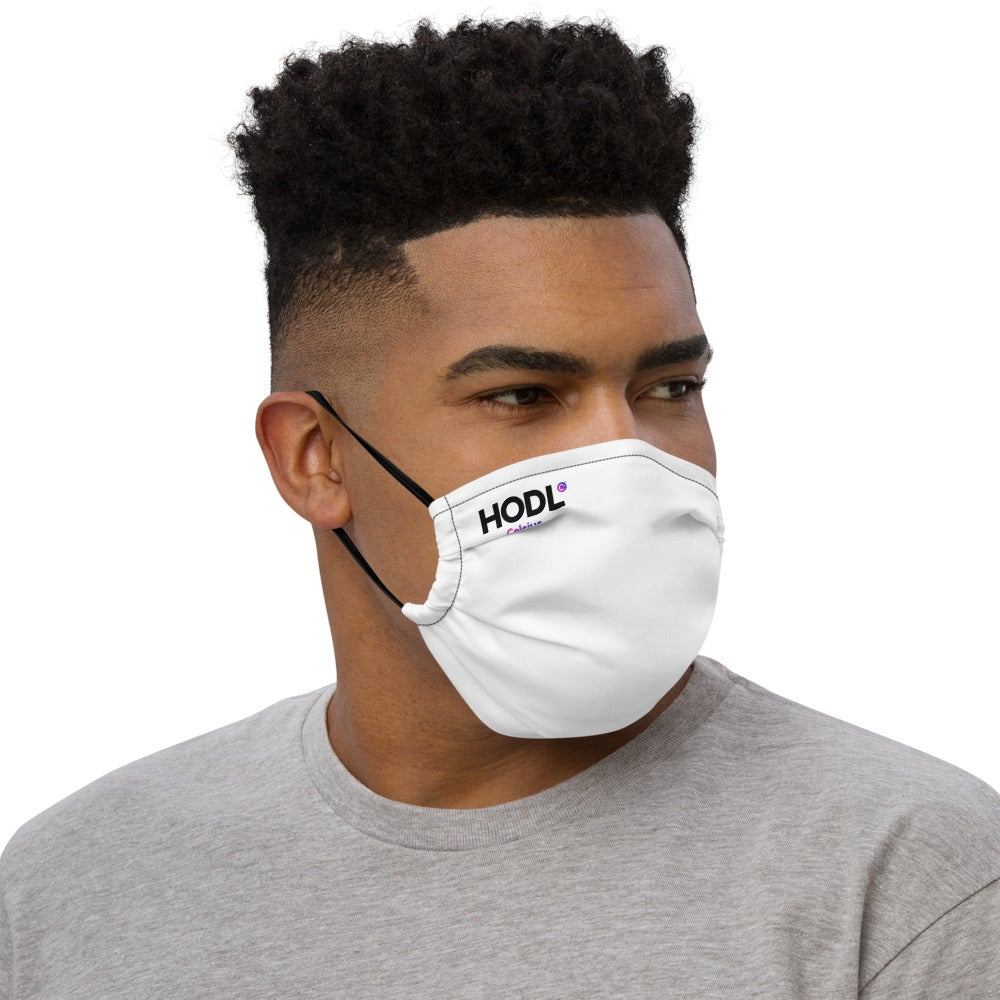 Image of HODL Face Mask