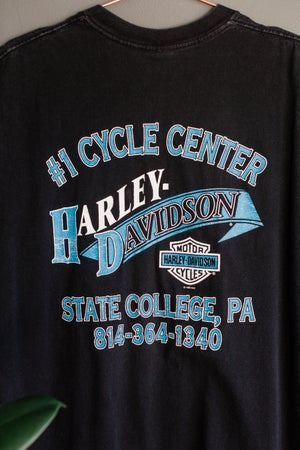 Image of Vintage 1995 Harley Legends Roam Tee
