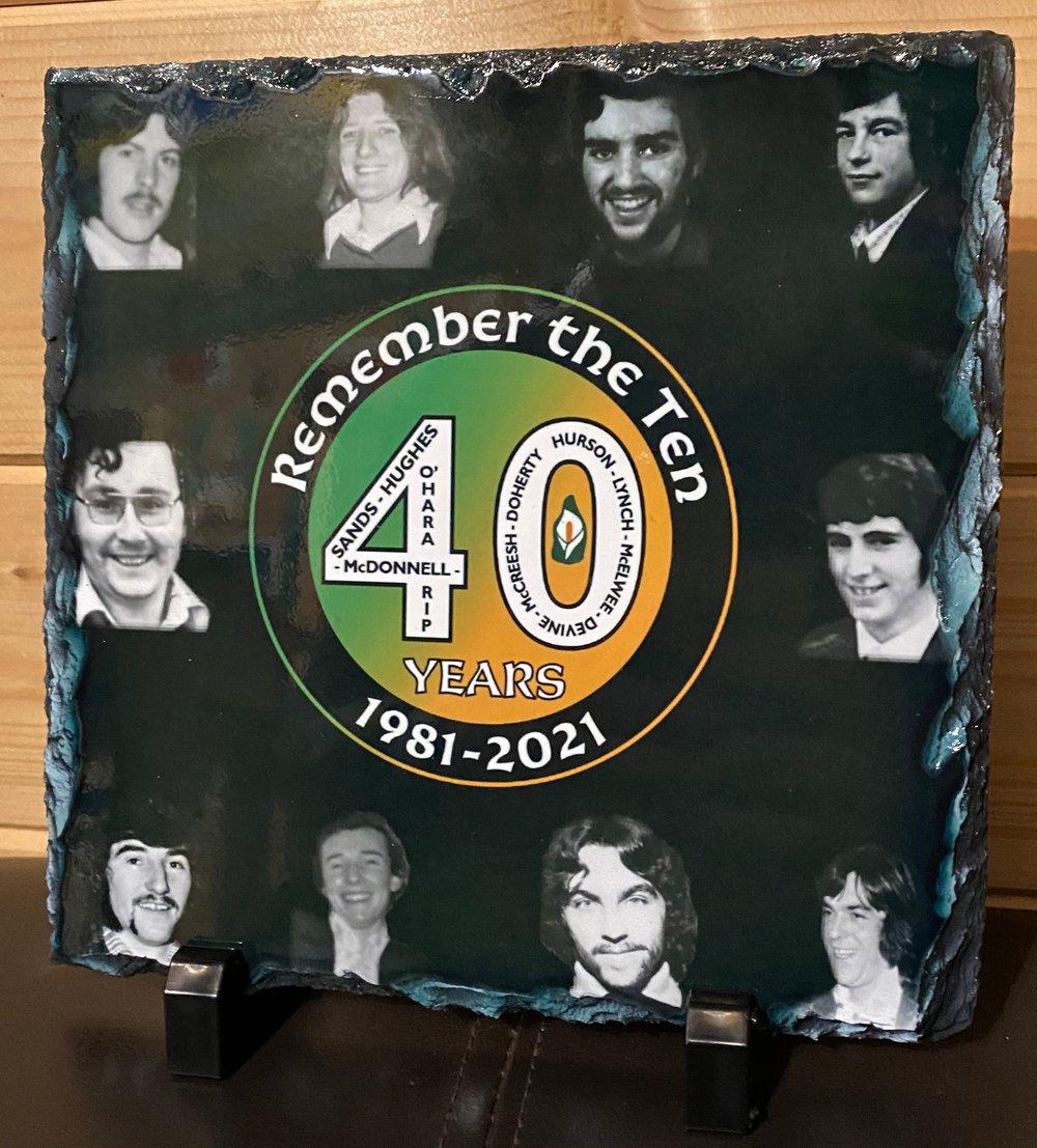 2021 40th Anniversary Hunger Striker Slate