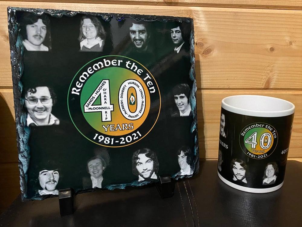 2021 40th Anniversary Hunger Striker Slate and Mug Pack