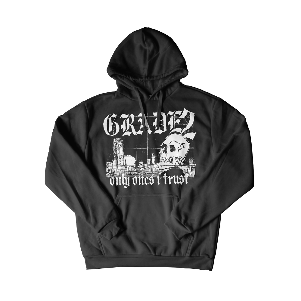 Image of Only Ones I Trust | Black Hoodie