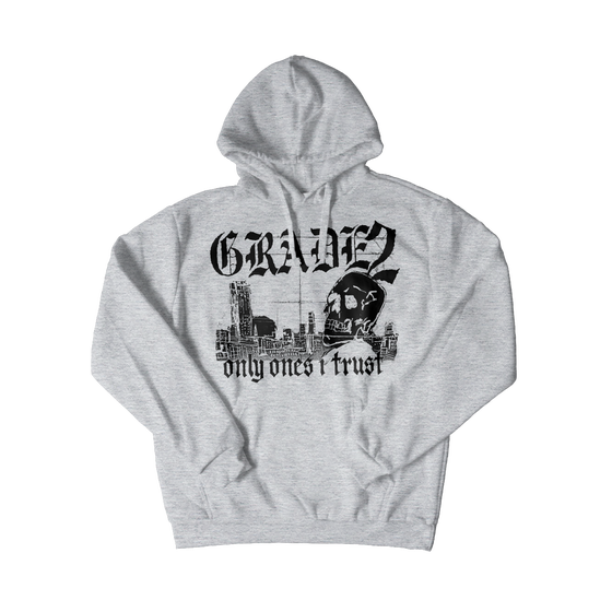 Image of Only Ones I Trust | Grey Hoodie
