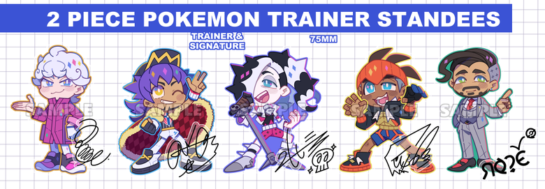 Image of Pokemon Trainer Standees