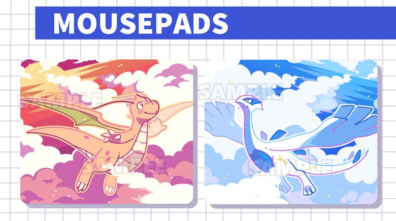 Image of Pokemon Mousepads