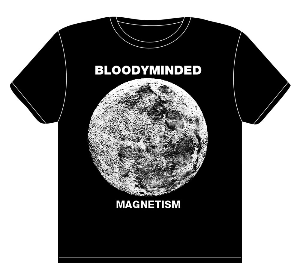 "Image of BLOODYMINDED ""Magnetism"" T-shirt"