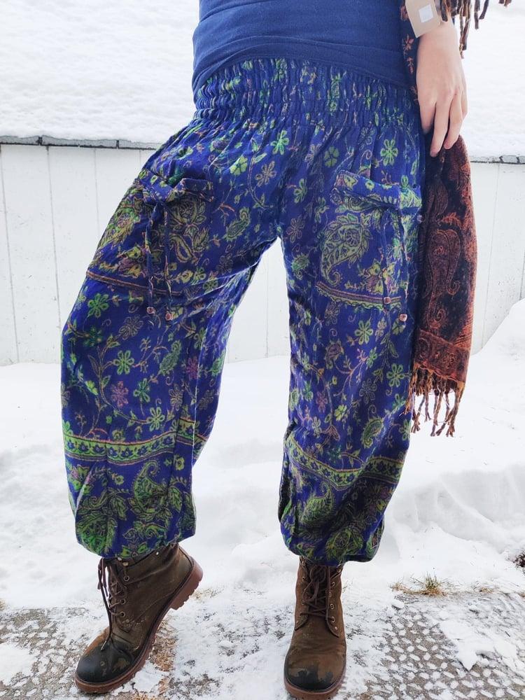 Image of Paisley Pocket Pants