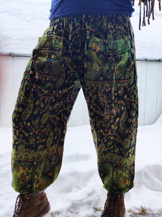 Image of Paisley Pocket Pants