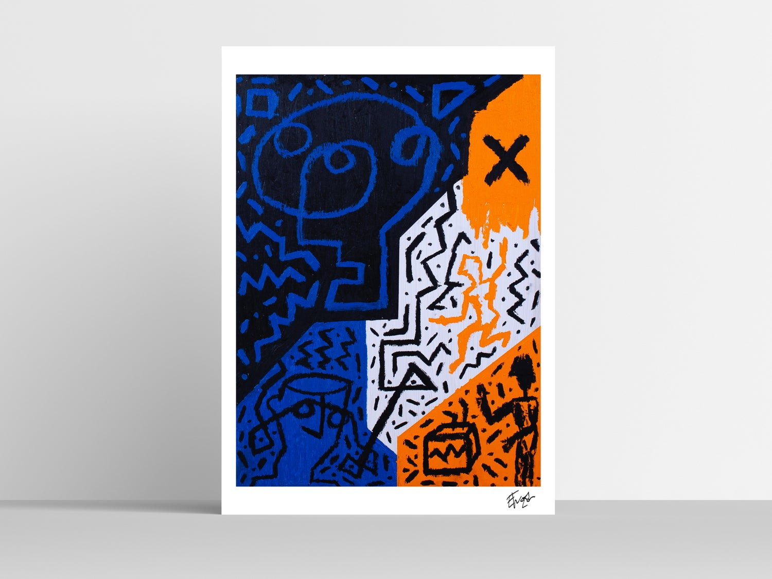 'Thirsty and Miserable' A3 Print