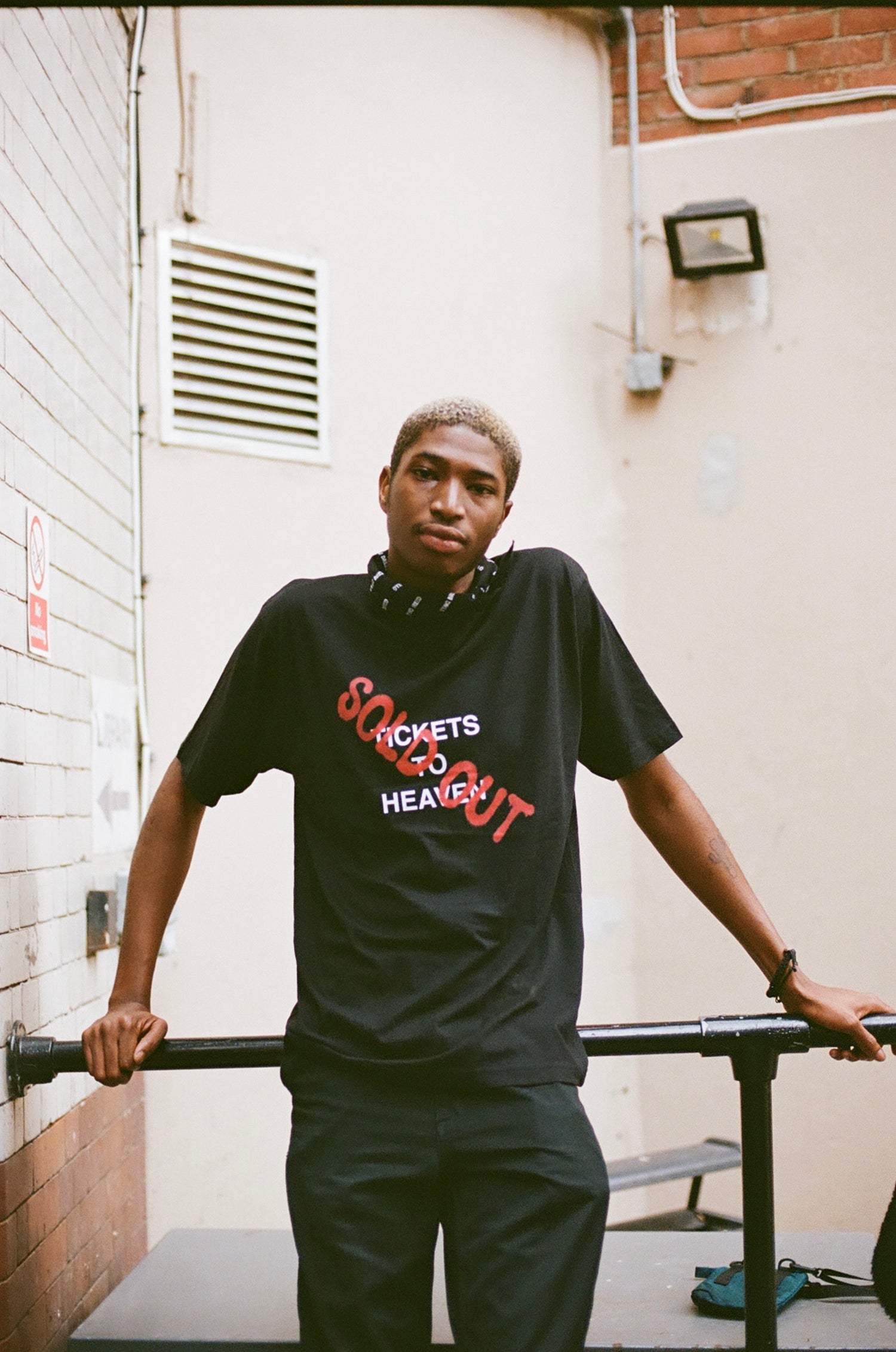 Image of BLACK 'SOLD OUT' TEE