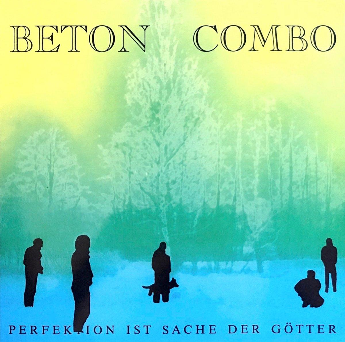 "Image of BETON COMBO ""Perfektion Ist Sache Der Götter"" LP"