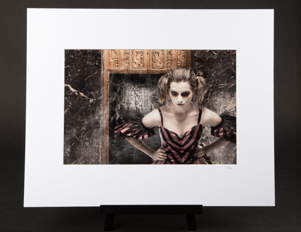 The Guardian Matted Print