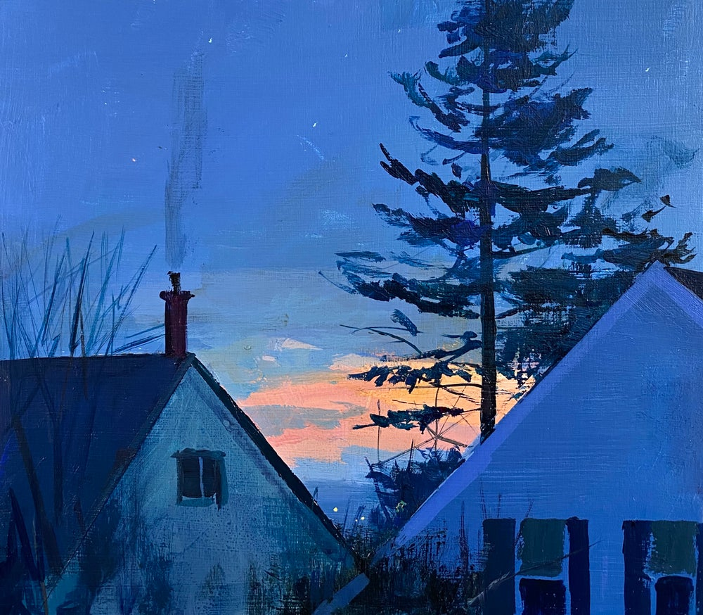 Image of A January evening