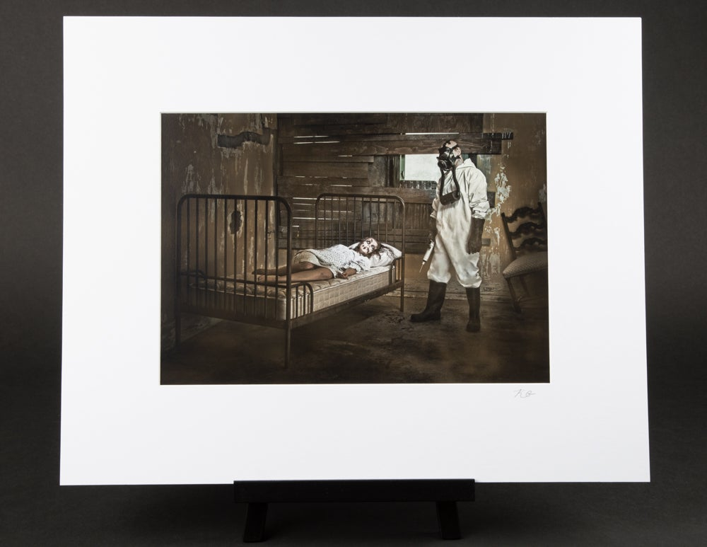 Contamination as a Means of Control Matted Print
