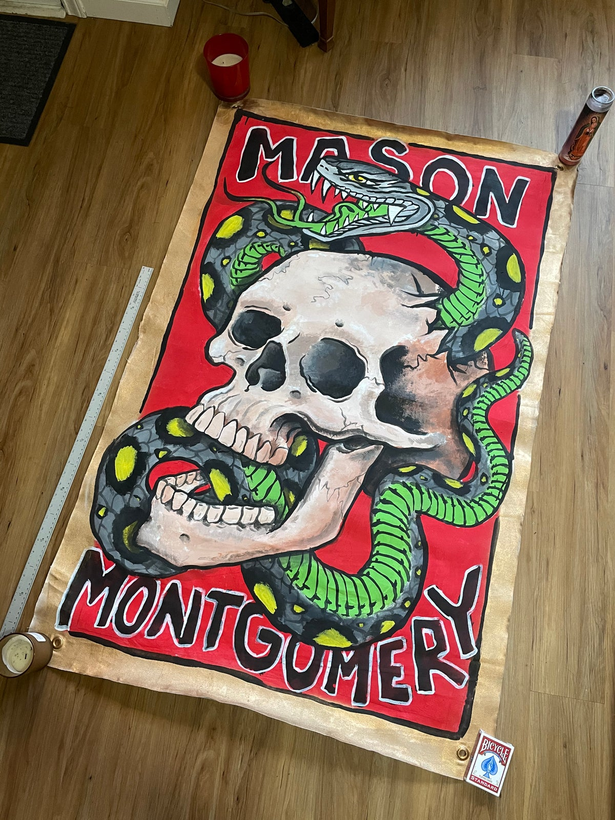 Image of 5 foot Convention Banner