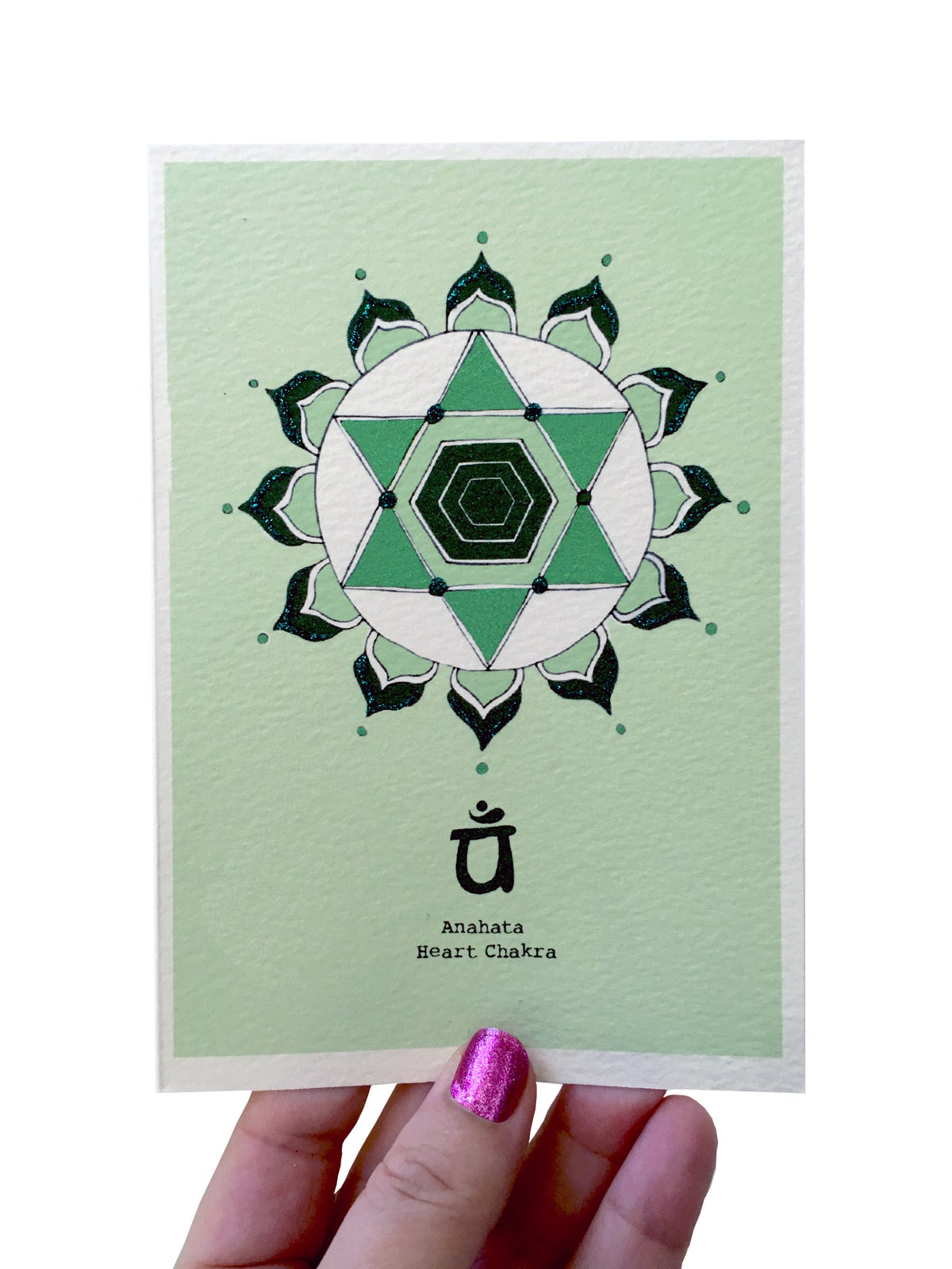 Heart Chakra Card