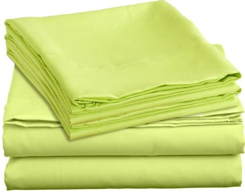Image of 1800 Thread Count - Full Bright Spring Colors Deep Pocket Premier Bed Sheet Sets