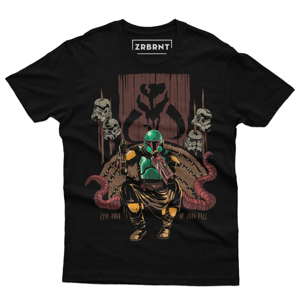 The Throne of Boba Available in Black, Brown and Navy