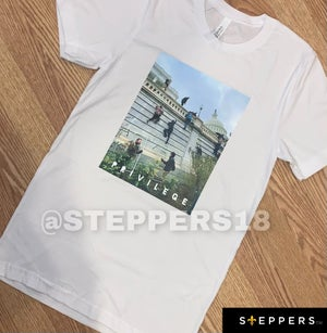 "STEPPERS ""PRIVILEGE"" TEE"
