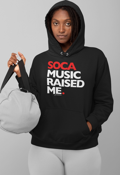 Image of Soca Music Raised Me Hoodie
