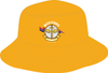Warriors (Yellow) Broad Brimmed Hat