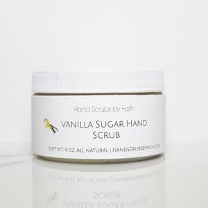 Image of Vanilla Sugar Hand Scrub All Natural