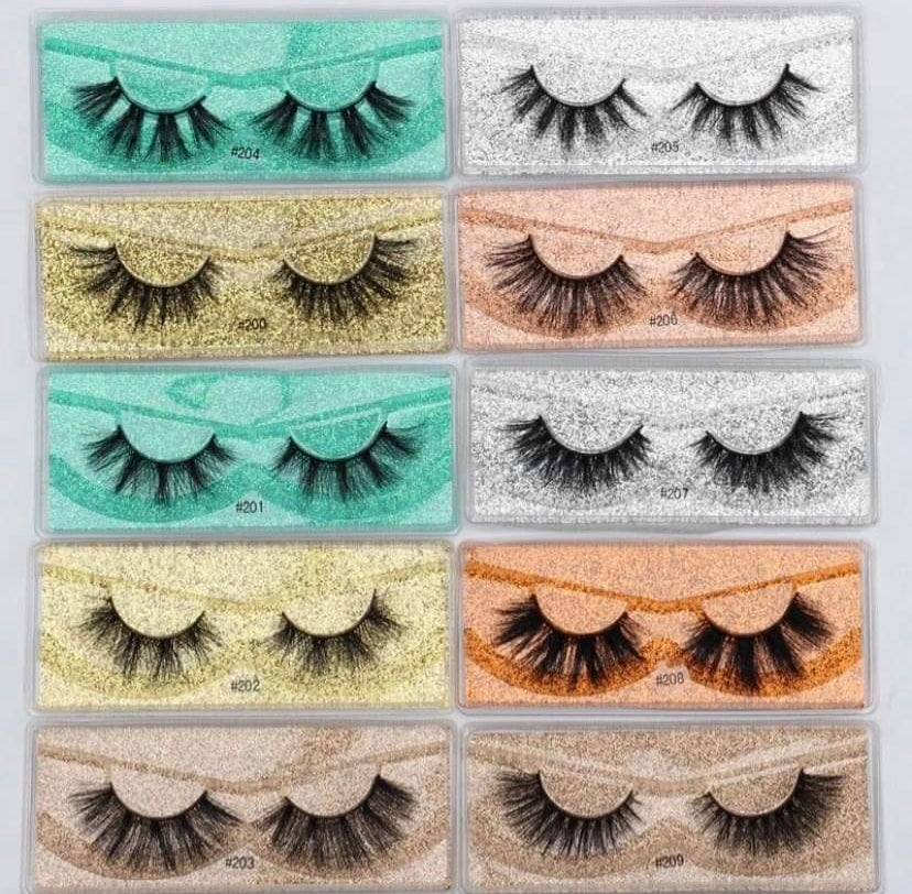Image of 3D mink Wholesale Lashes