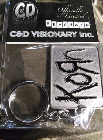 Korn Logo Keychain