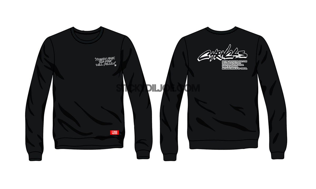 "Image of Chronicles 2021 ""PASSION FIRST"" Long-Sleeve T-Shirt"