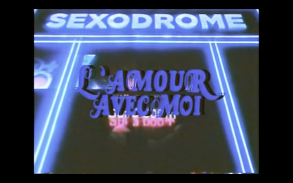 """Image of LIMITED EDITION """"L'Amour avec Moi"""" T-Shirt"""