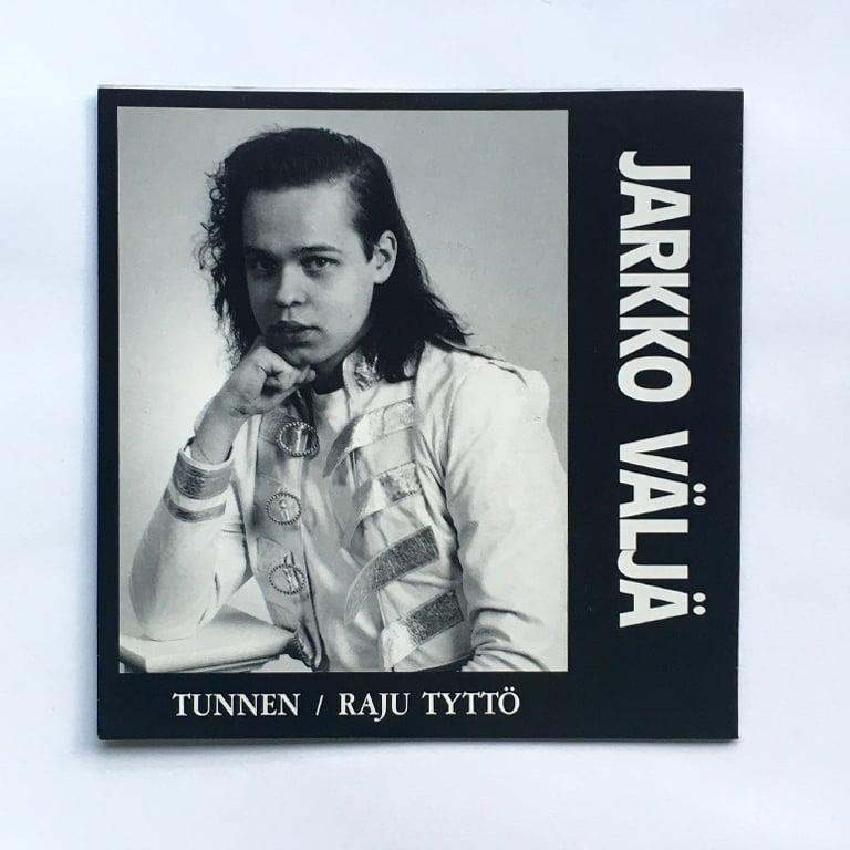 """Image of JARKKO VÄLJÄ - TUNNEN / RAJU TYTTÖ 7"""""""