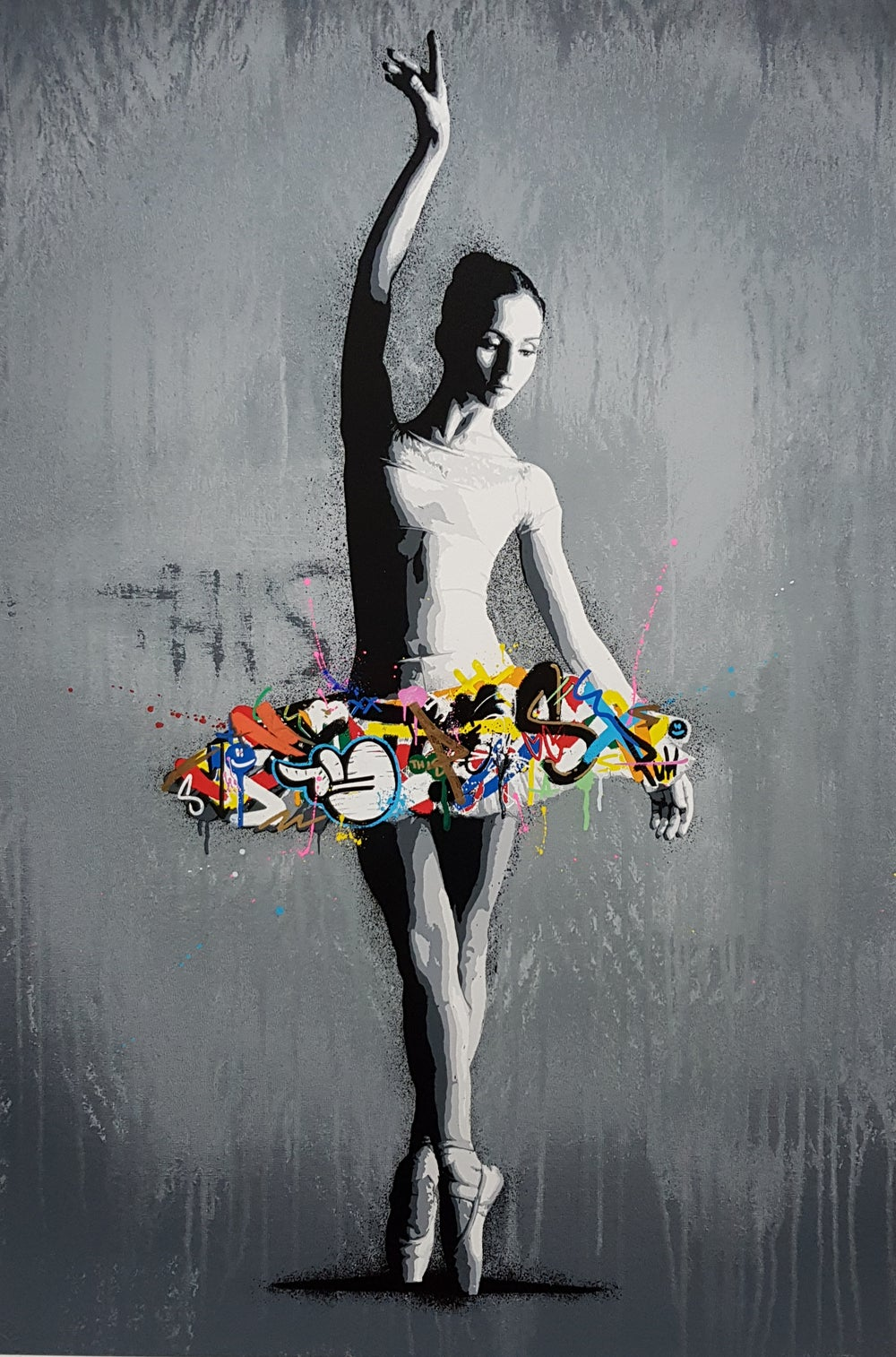 """Image of MARTIN WHATSON """"PASSE"""" - HAND FINISHED LIMITED EDITION 50 - 80CM X 56CM"""