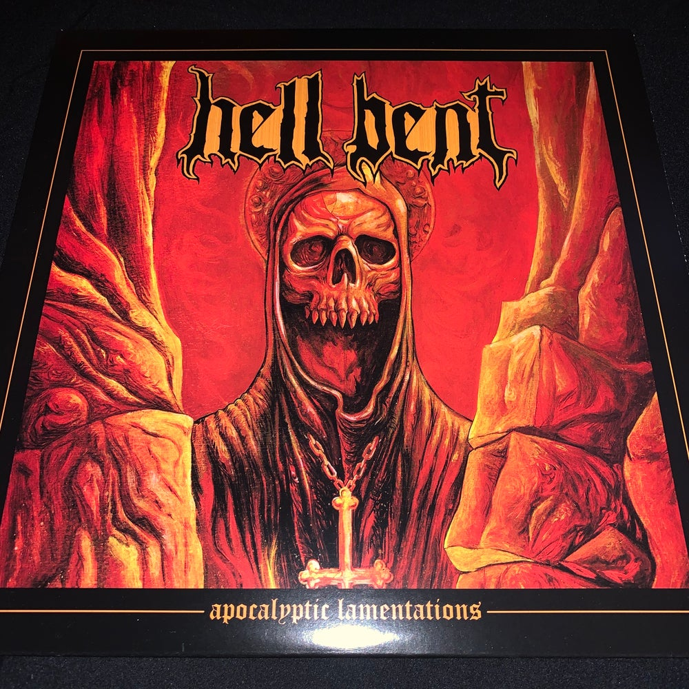 "Hell Bent - Apocalyptic Lamentations - 12"" LP"