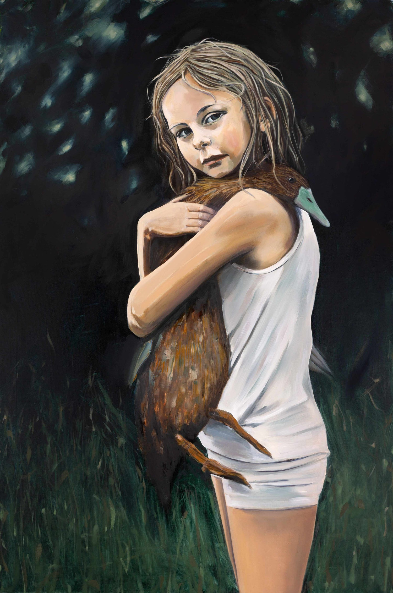 Image of Ugly duckling Painting