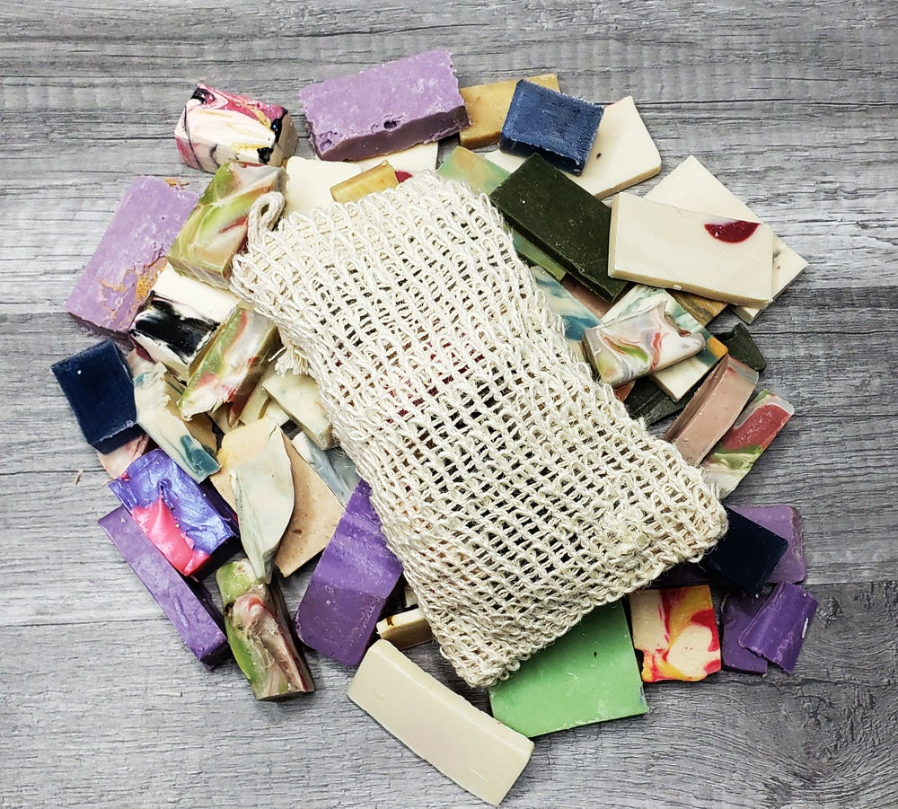 Image of BAG OF BITS HANDMADE COLD PROCESS SOAP
