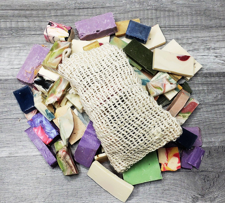 Image of BAG OF BITS HANDMADE COLD PROCESS SOAP