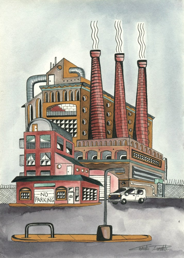 Image of The Factory (Postcard)