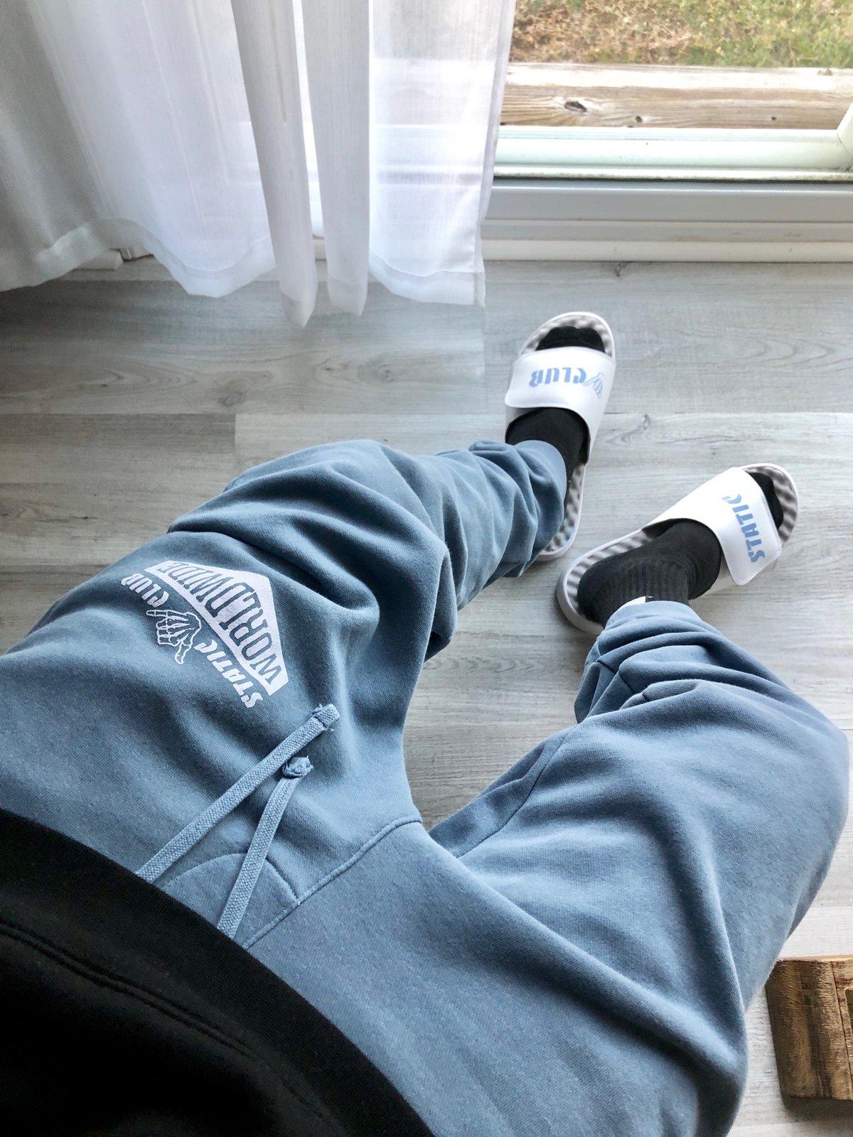 Worldwide Joggers [Slate Blue]