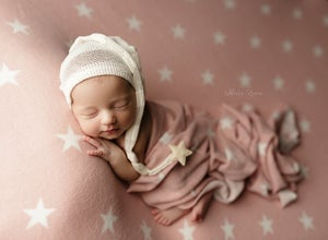 Image of Cozy Twinkle Wrap - pink