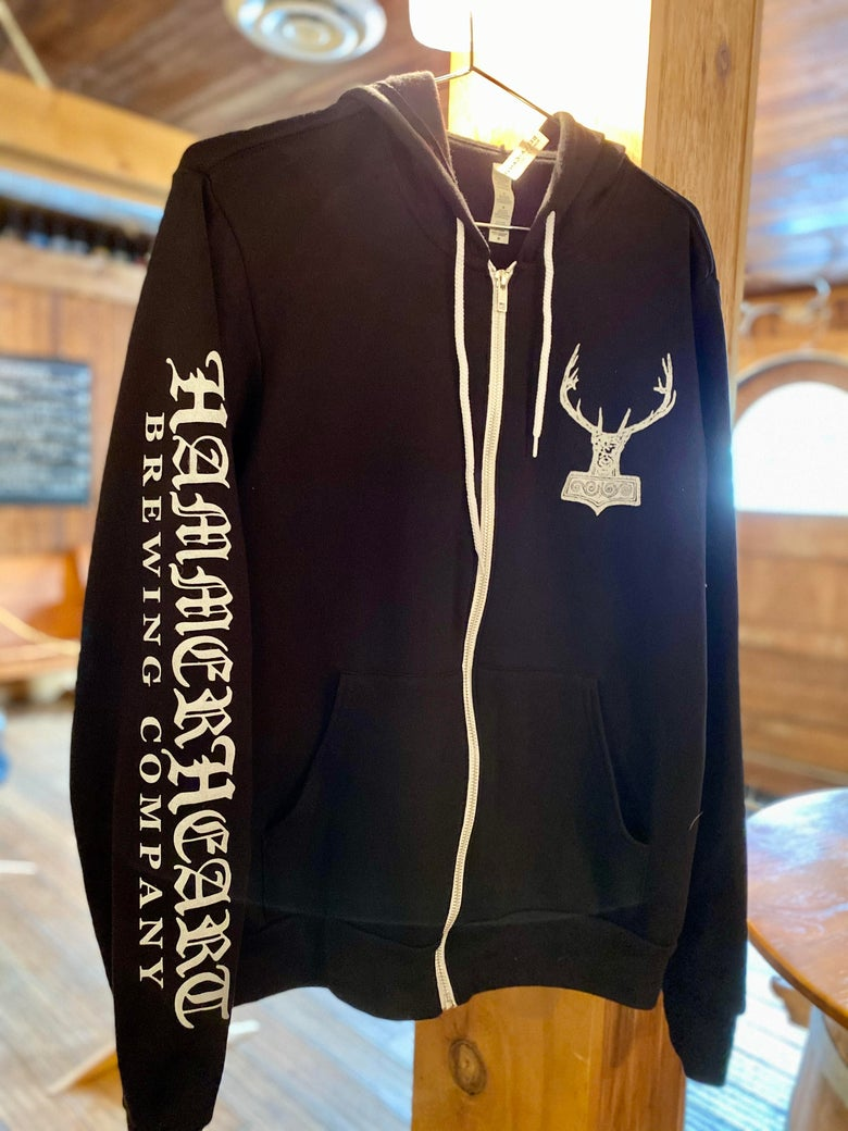 Image of Brewing For Battle Heavyweight Hoodie