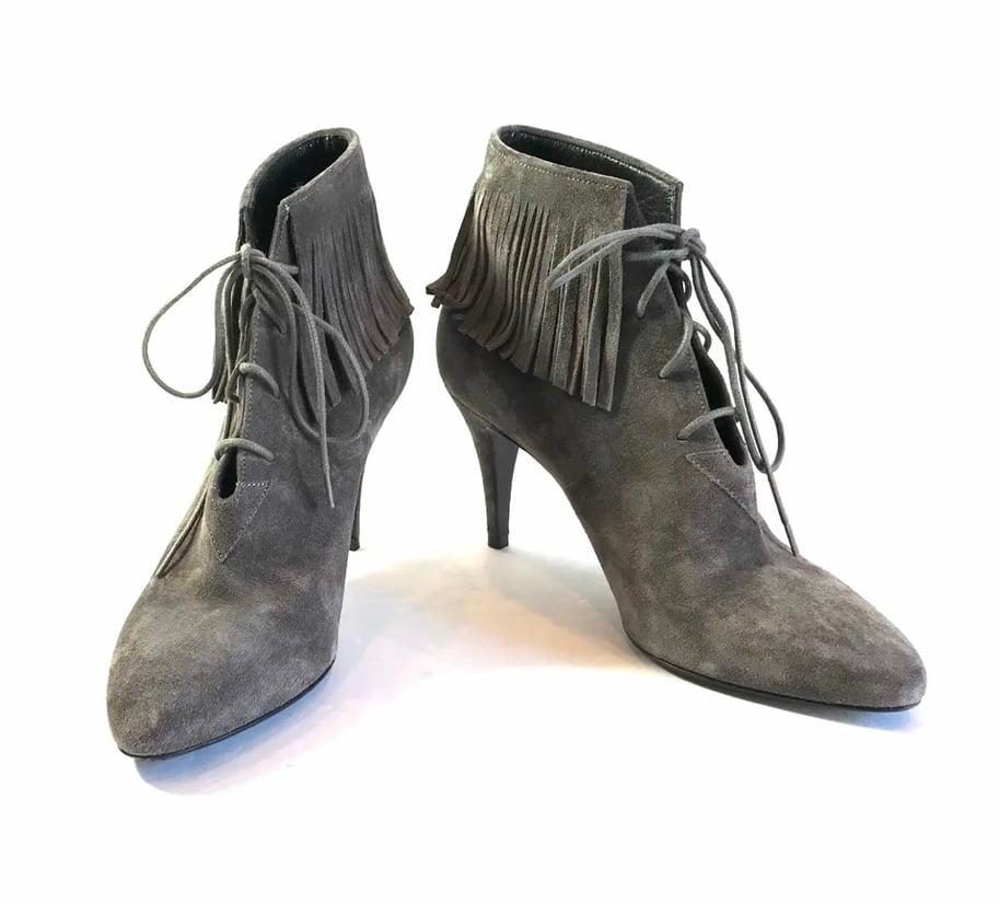 Image of Saint Laurent Size 36 Booties 381-263