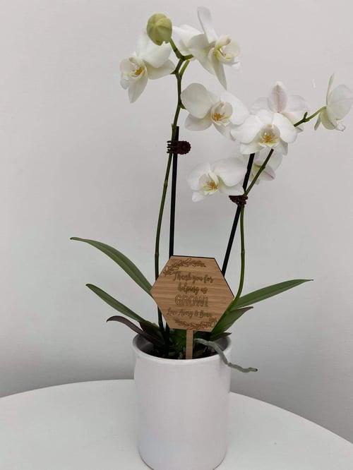 Image of Planter Plaque