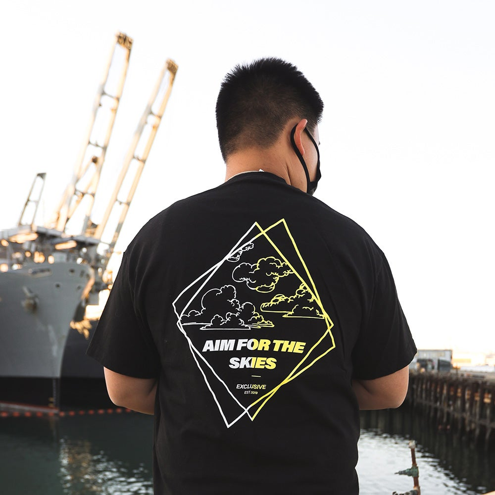 Image of Aim for the Skies Tee - Black