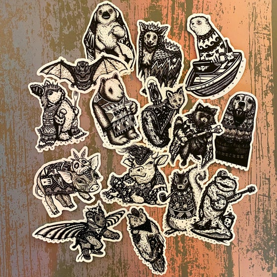 Image of Vinyl Sticker Packs!
