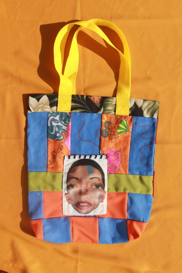 Image of Blueberry: Rainbow Tote