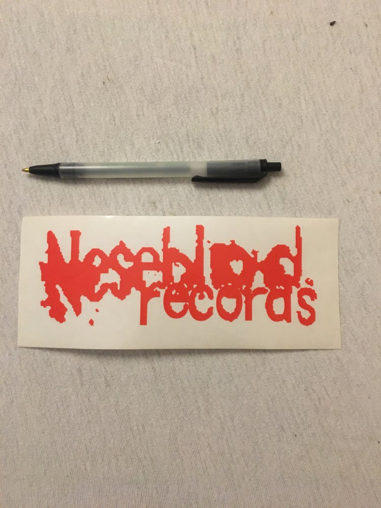 Image of The First Neseblod sticker ever made