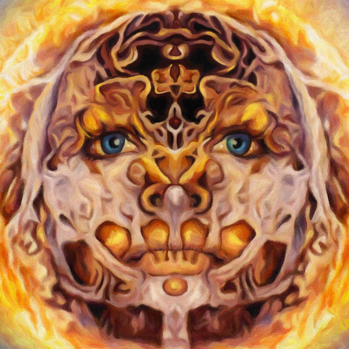 """Image of """"Alien God"""" - Giclee print"""