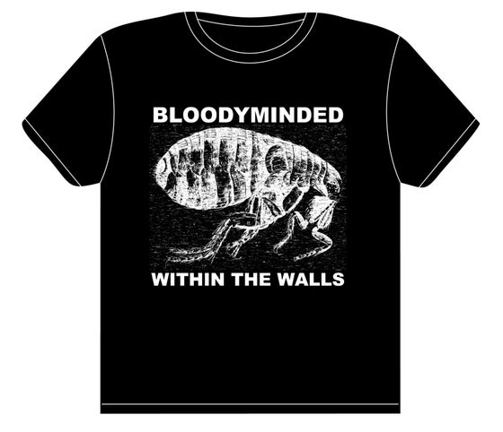 "Image of BLOODYMINDED ""Within The Walls"" (flea) T-shirt"